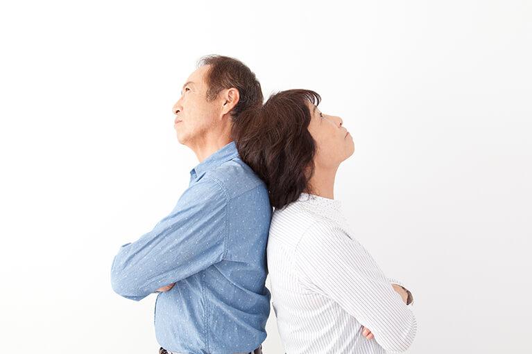 熟年離婚について